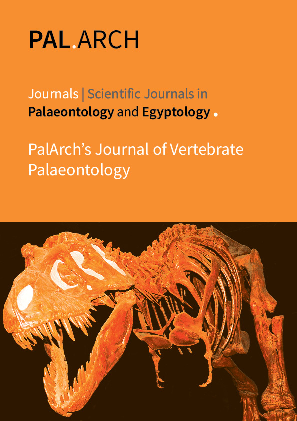 PalArch's Journal of Vertebrate Palaeontology